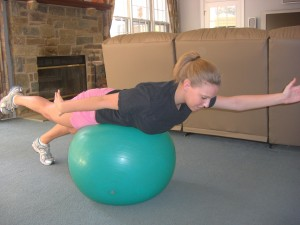 Core strength ball