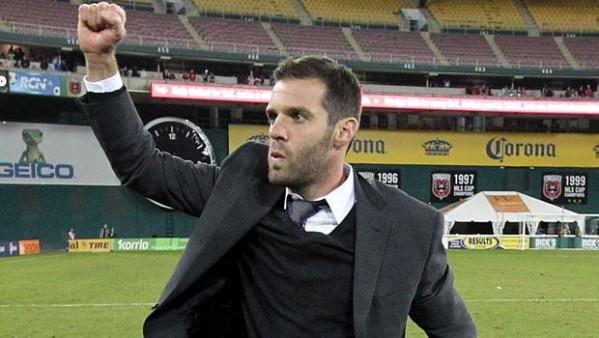 Ben Olsen at RFK Stadium.