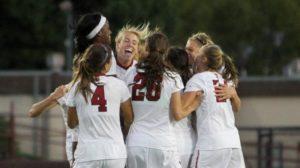 Stanford goal celebration
