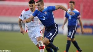 Sandy, Utah- Tuesday, October 13, 2015: as USA National Team, under 23, defeats Canada 2-0 in the CONCACAF Men's Olympic Qualifiers thirds place match at Rio Tinto Stadium.