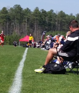 Jeff Cup sideline
