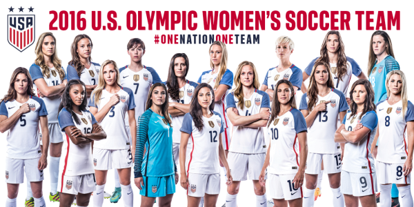 Jill Ellis Names 18 Player Uswnt Olympic Roster Soccerwire