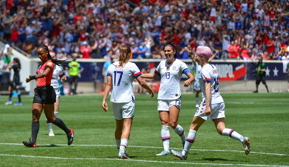 USWNT facing Netherlands today in FIFA World Cup Final