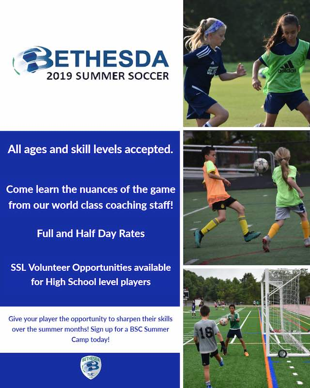 Bethesda Summer Camp Flyer