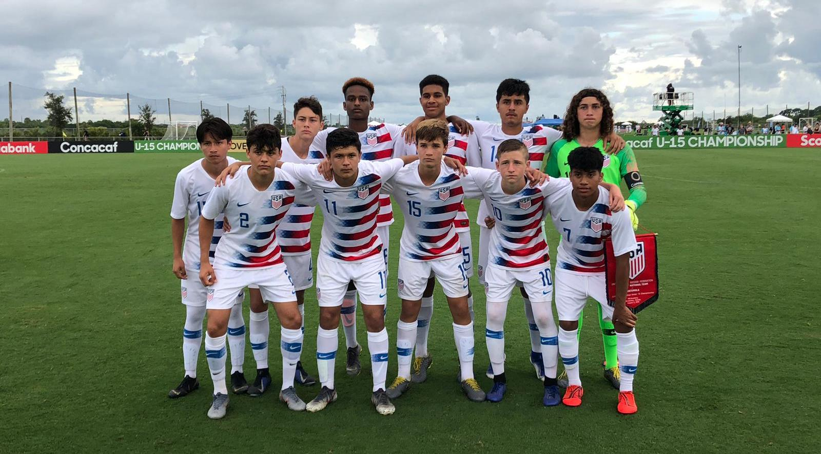 newest 256e7 2272e U.S. U-15 Boys National Team overpowers Guatemala, 3-0, in ...