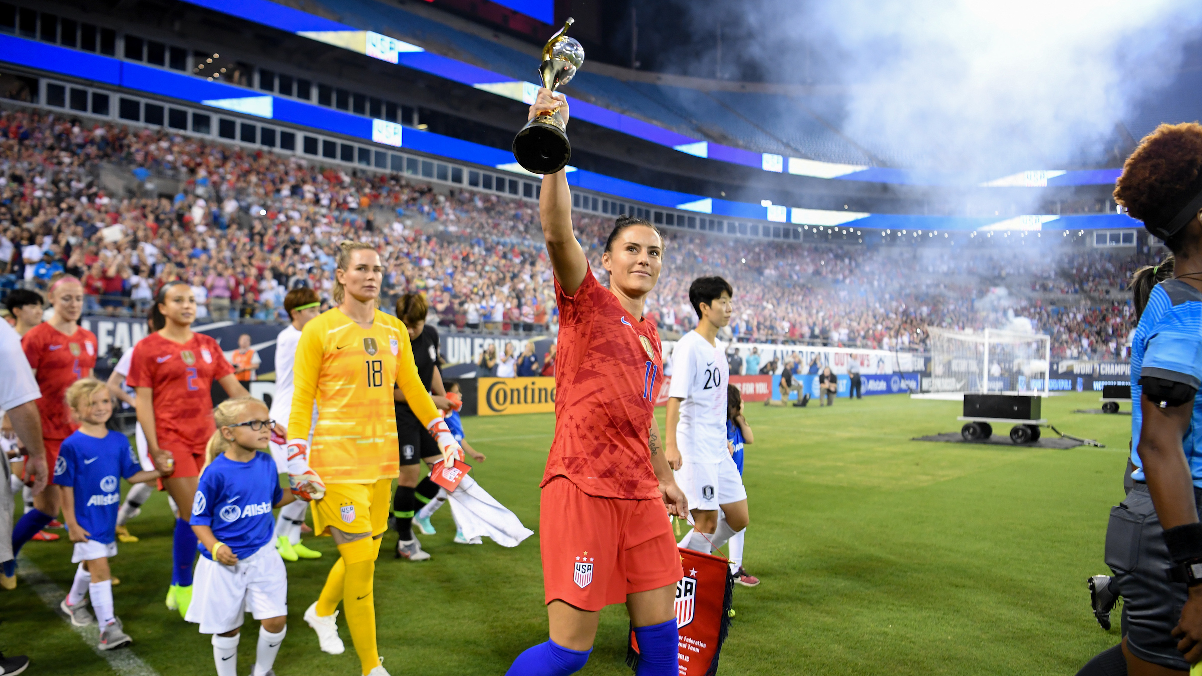 Concacaf Womens World Cup Qualifying 2020.United States To Host 2020 Concacaf Women S Olympic