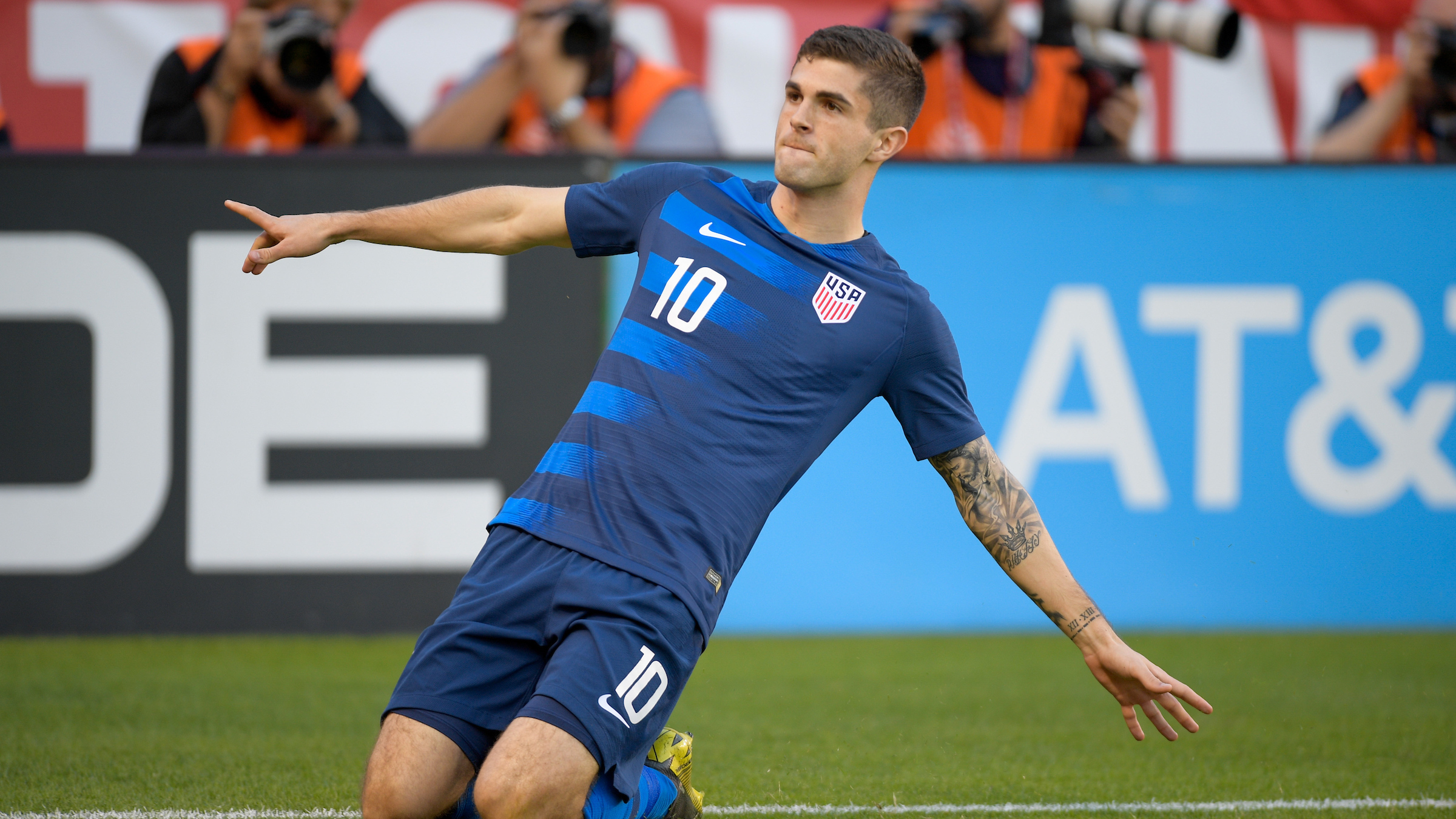 USMNT forward Christian Pulisic named 2019 U.S. Soccer Male Player of the  Year - SoccerWire