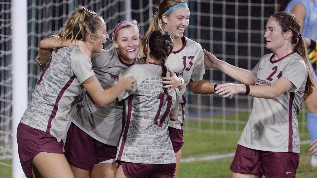 Virginia Tech Women S Soccer Posts Record Breaking Night In 8 2 Win Over Miami Soccerwire